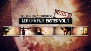 Motion 6 Pack: Easter Vol. 1