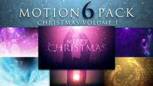 Motion 6 Pack: Christmas Vol. 1