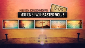 Motion 6 Pack: Easter Vol. 3