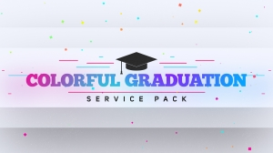 Colorful Graduation Service Pack