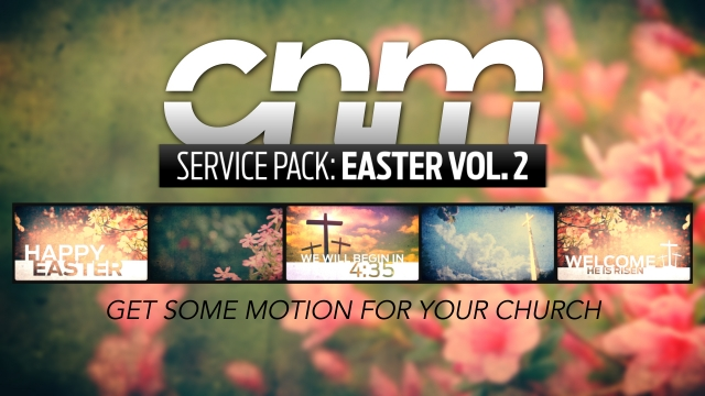 Calvary Clouds Easter