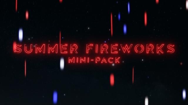 Summer Fireworks Mini-Pack