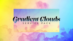 Gradient Clouds Service Pack
