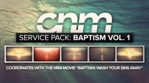 Service Pack: Baptism Vol. 1