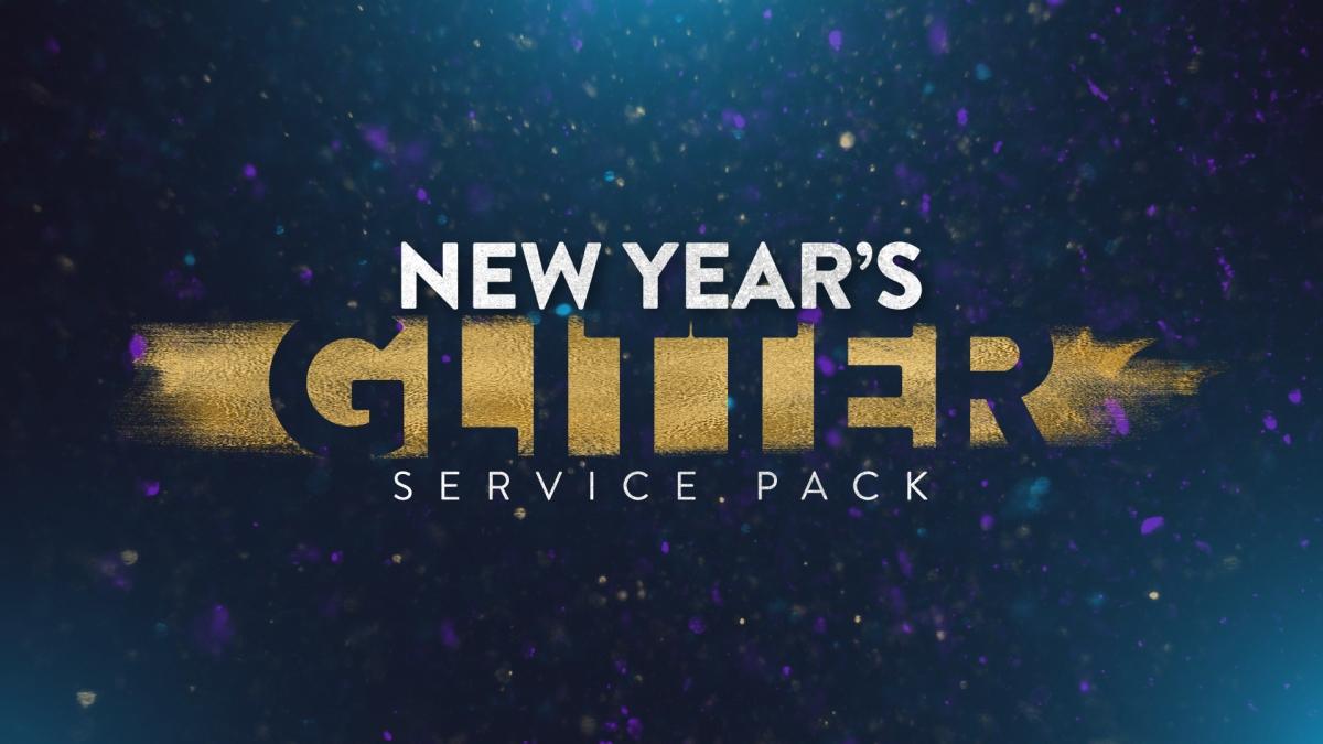 New Year's Glitter