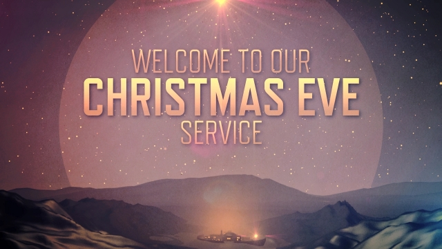 Christmas Eve Service Background