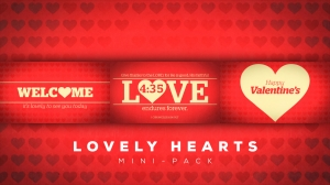 Lovely Hearts Mini-Pack