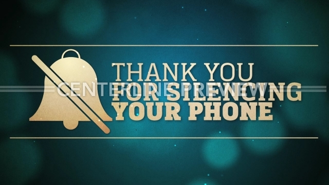 please silence your cell phone sign