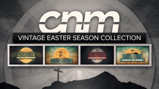 Vintage Easter Holy Week