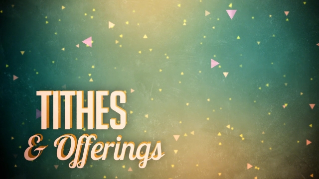 retro green tithes offerings centerline new media