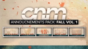 Announcements Pack: Fall Vol. 1