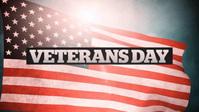 Veterans Day American Flag Title Centerline New Media
