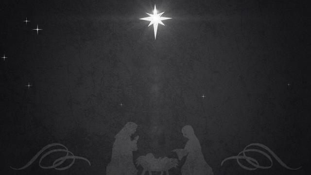 Vintage Christmas Eve Manger 02 // Centerline New Media