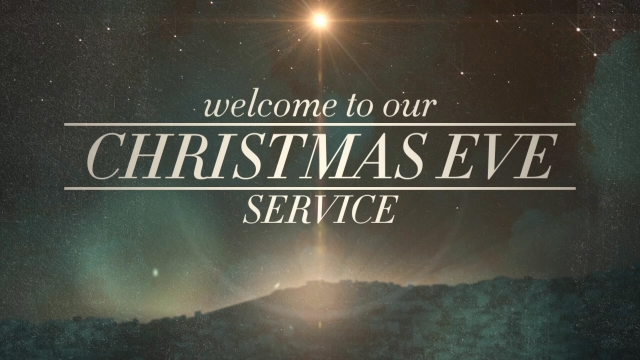 peaceful christmas eve service welcome centerline new media