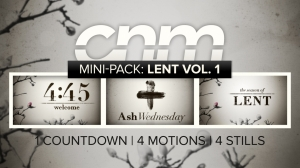 Mini-Pack: Lent Vol. 1