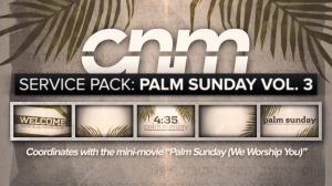 Service Pack: Palm Sunday Vol. 3