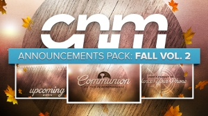 Announcements Pack: Fall Vol. 2