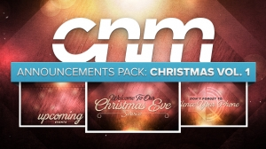 Announcements Pack: Christmas Vol. 1