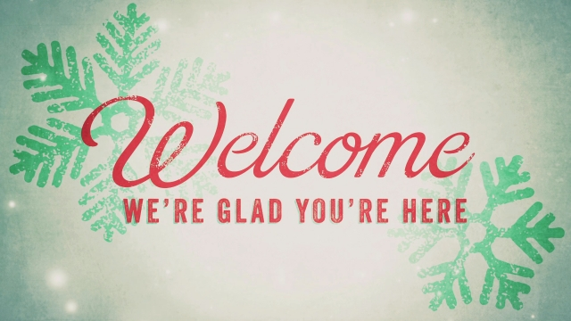 Welcome Christmas.Snowlight Christmas Welcome Centerline New Media