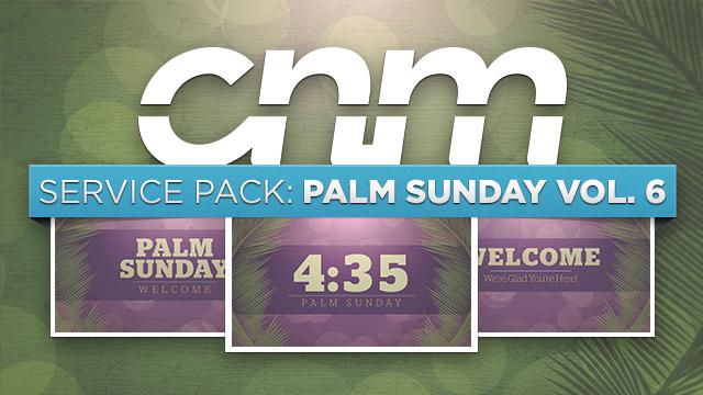 Palm Sunday Bokeh