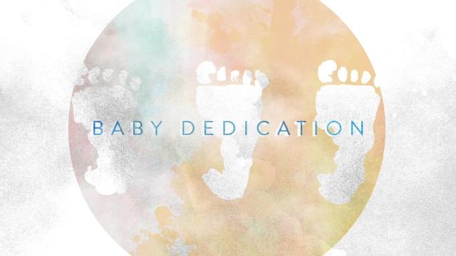 Watercolor Life Baby Dedication Centerline New Media