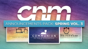 Announcements Pack: Spring Vol. 3