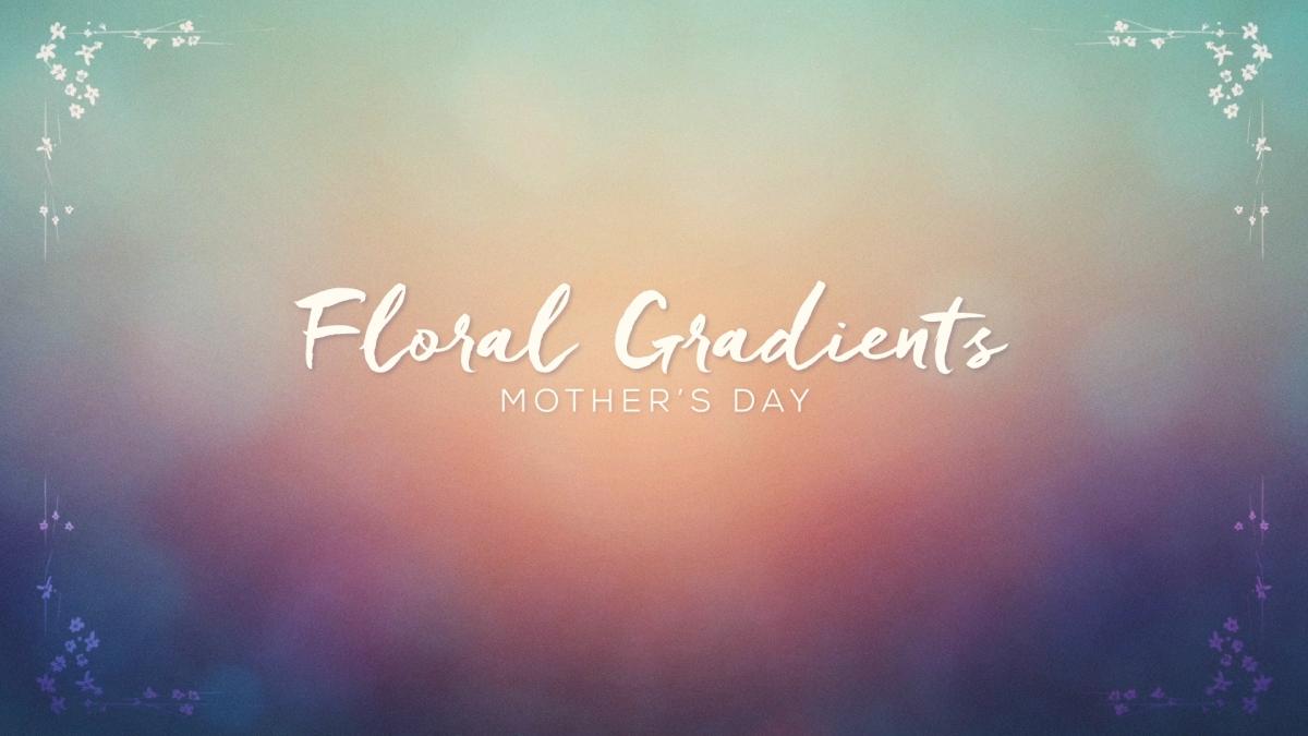 Floral Gradients