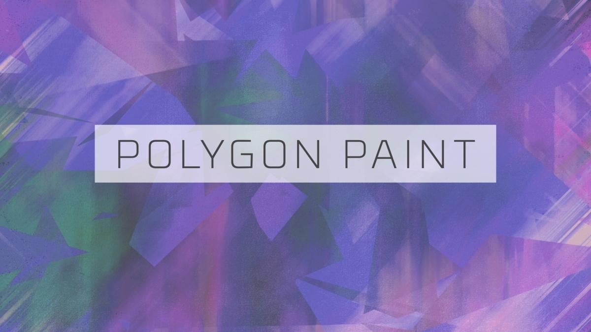 Polygon Paint