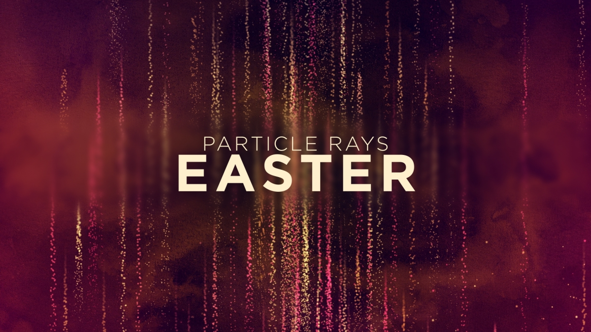 Particle Rays Easter
